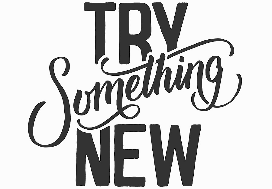 Try Something New by Lori Rinck